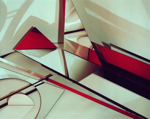 Construct XV, 1982, Polaroid, 8x10 in