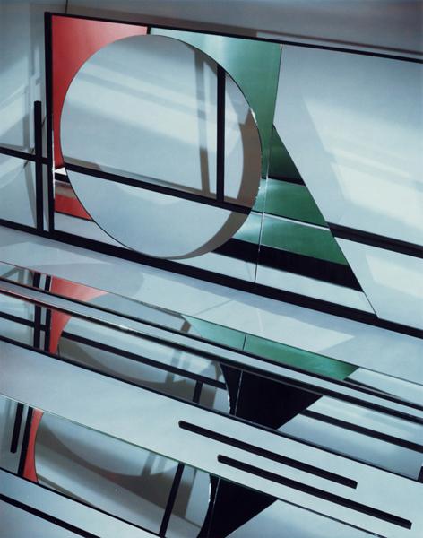 Construct XI-A, 1981, Polaroid, 8x10in